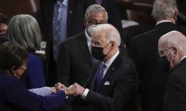 Biden's first big speech to Congress bombs on all counts