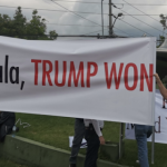 Kamala Harris Greeted In Guatemala With 'Go Home' and 'Trump Won' Messages