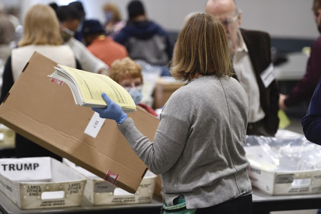 BOMBSHELL: November Memo Documented 'Massive' Election Integrity Problems in Atlanta