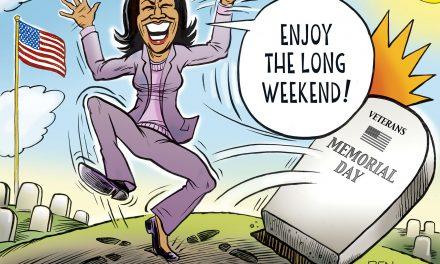 Kamala's Long Weekend
