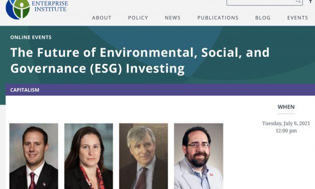 Free Enterprise Project July 2021 Newsletter