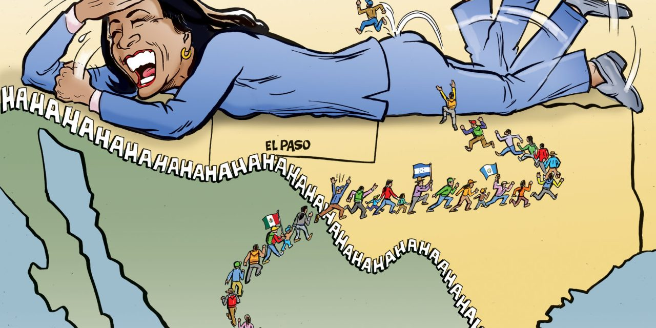 Kamala's Border Trip Is A Joke