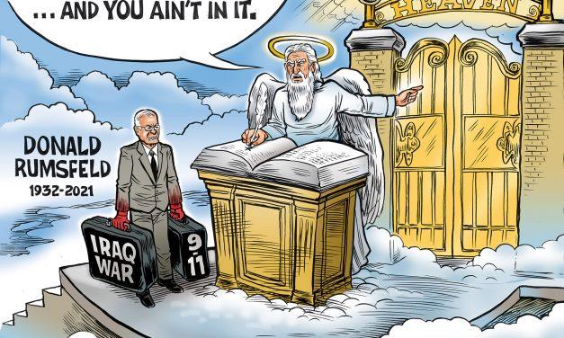 Knocking On Heaven's Door, Rumsfeld