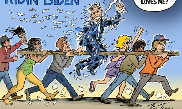 Riding Biden Out Of Town On A Rail