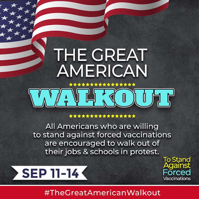 'The Great American Walkout' Begins: Biden's Overreaching Move Is Focus of Mass Event