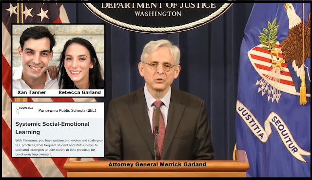 AG Merrick Garland's Daughter Married to Co-Founder of Education Company Selling Critical Race Theory Resource Material to School Districts